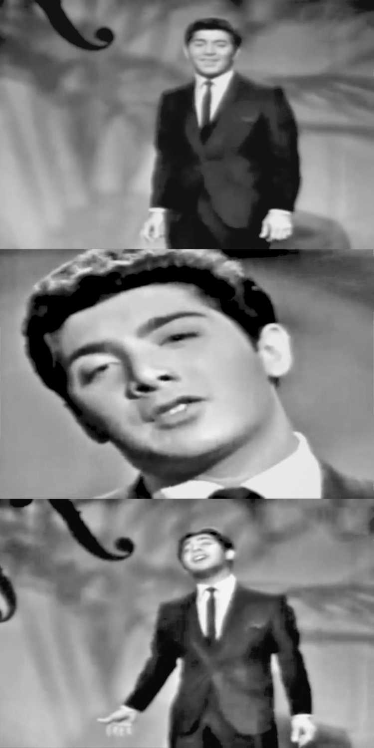 1957 – Paul Anka: »Diana«, Fotos/ Collage © Friedhelm Denkeler