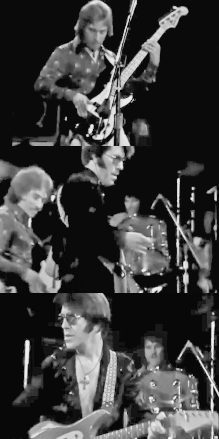 1958 – Link Wray & His Ray Men: »Rumble«, Foto/Collage © Friedhelm Denkeler