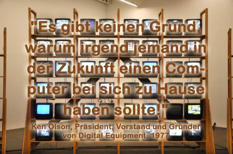 »Braucht man zu Hause einen Computer?«, Ken Olsen, Digital Equ