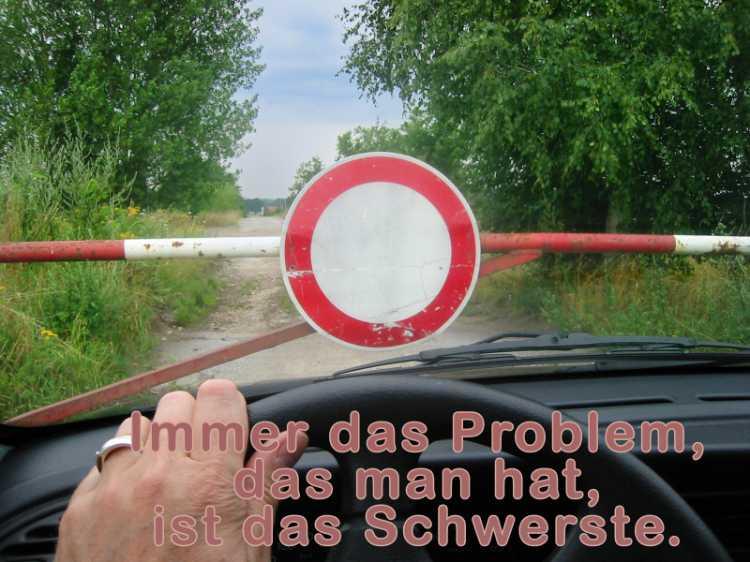 »Immer das Problem, das man hat, ist das Schwerste«, Foto/Grafik © Friedhelm Denkeler 2003