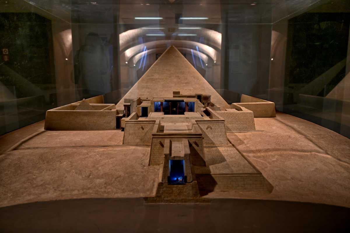 »Der Pyramidenbezirk des Alten Reiches in Ägyptens«, 2496–2483 v.Chr., Neues Museum, Berlin, Foto © Friedhelm Denkeler 2021